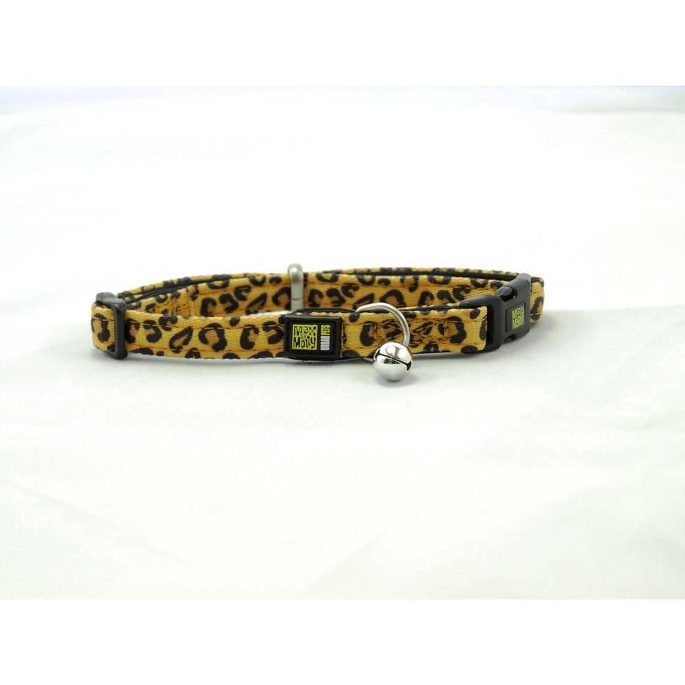 Max & Molly Leopard Classic Cat Collar