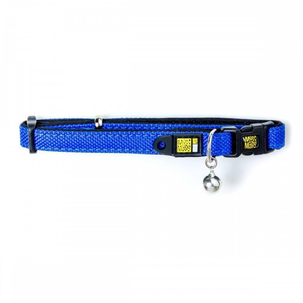 Max & Molly X Trail Denim Blue Cat Collar