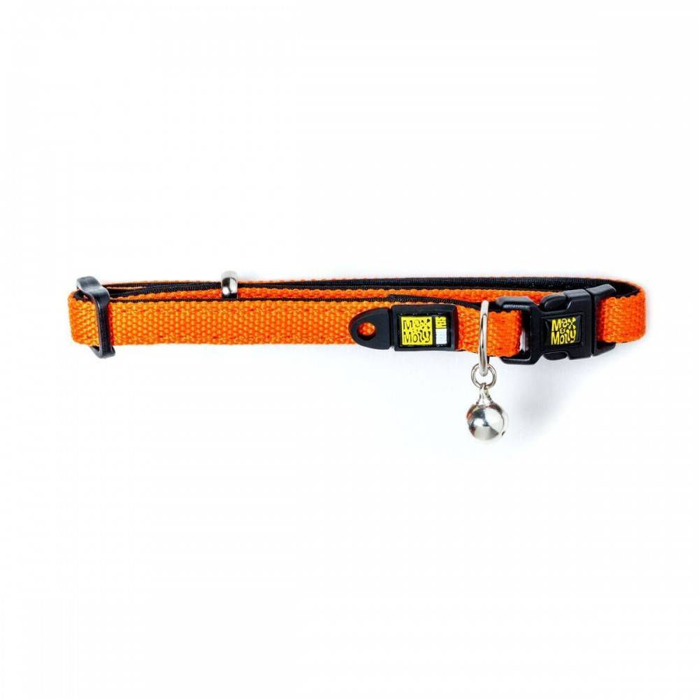 Max & Molly X Trail Splash Orange Cat Collar