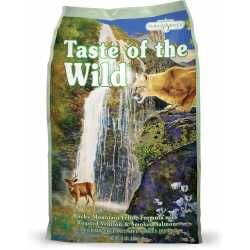 Taste of the Wild Rocky Mountain Feline® Formula with Roasted Venison & Smoked Salmon 6.6kg