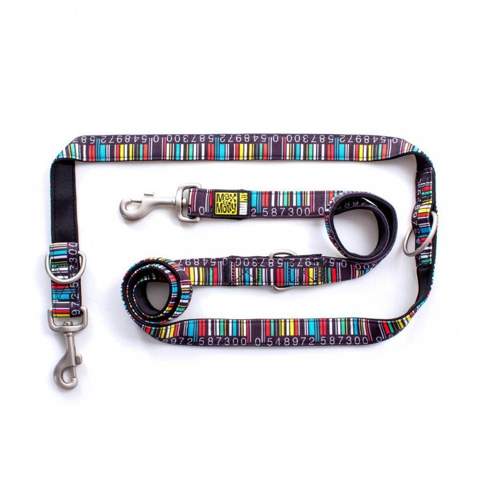 Max & Molly Barcode Multifunctional Leash