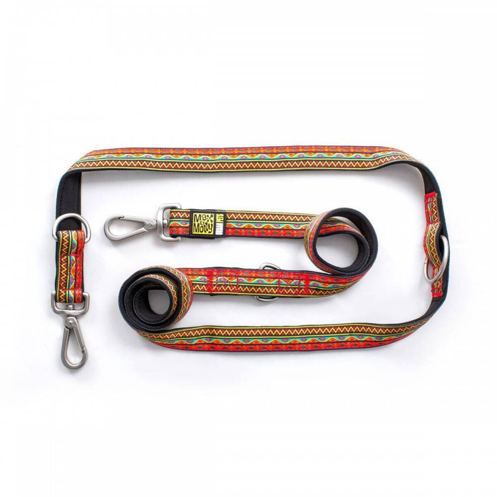 Max & Molly Ethnic Vibes Multi Function Leash