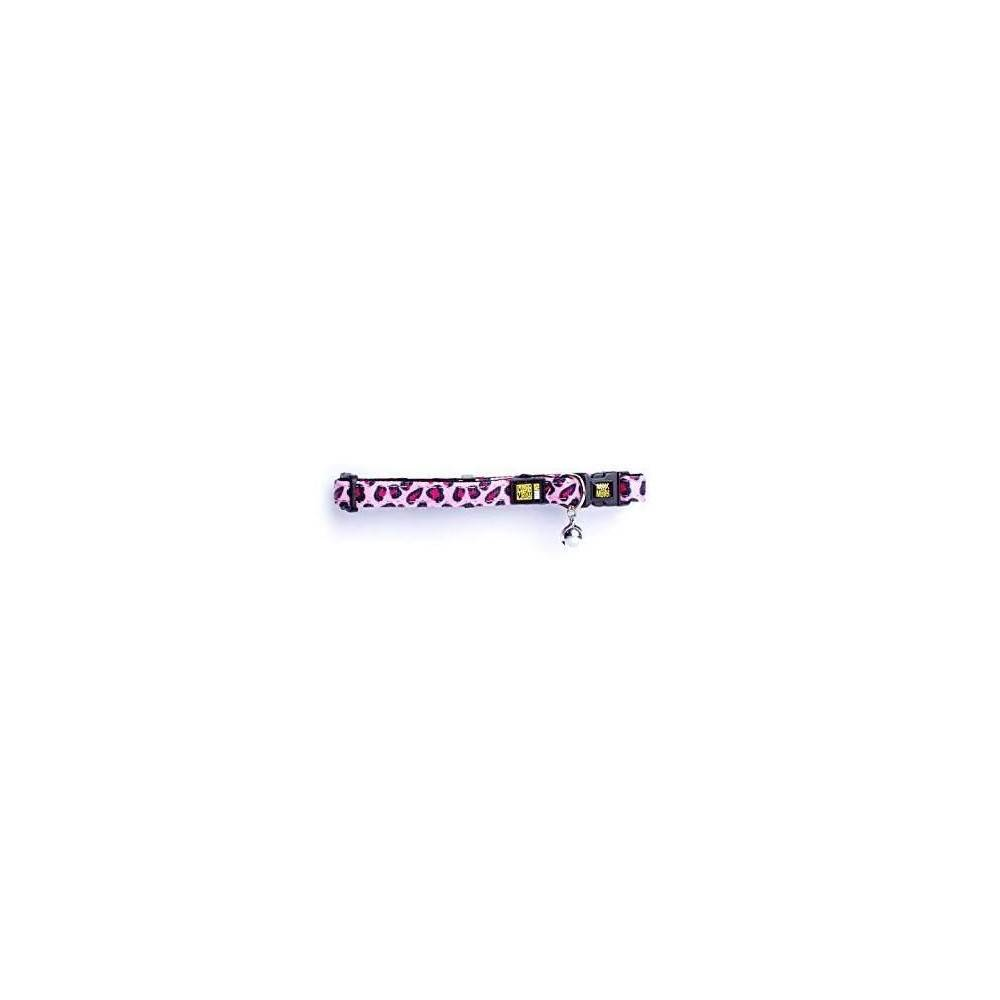 Max & Molly Leopard Pink Cat Collar