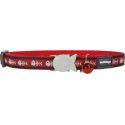 Red Dingo Cat Collar Fish Bone