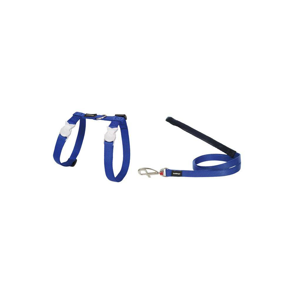Red Dingo Cat Harness & Lead Combo Plain Classic