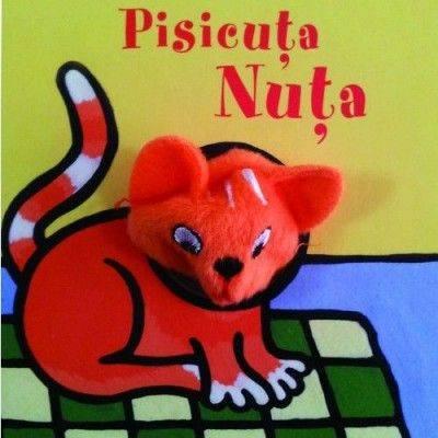 Carte cu Jucărie. Pisicuța Nuța.