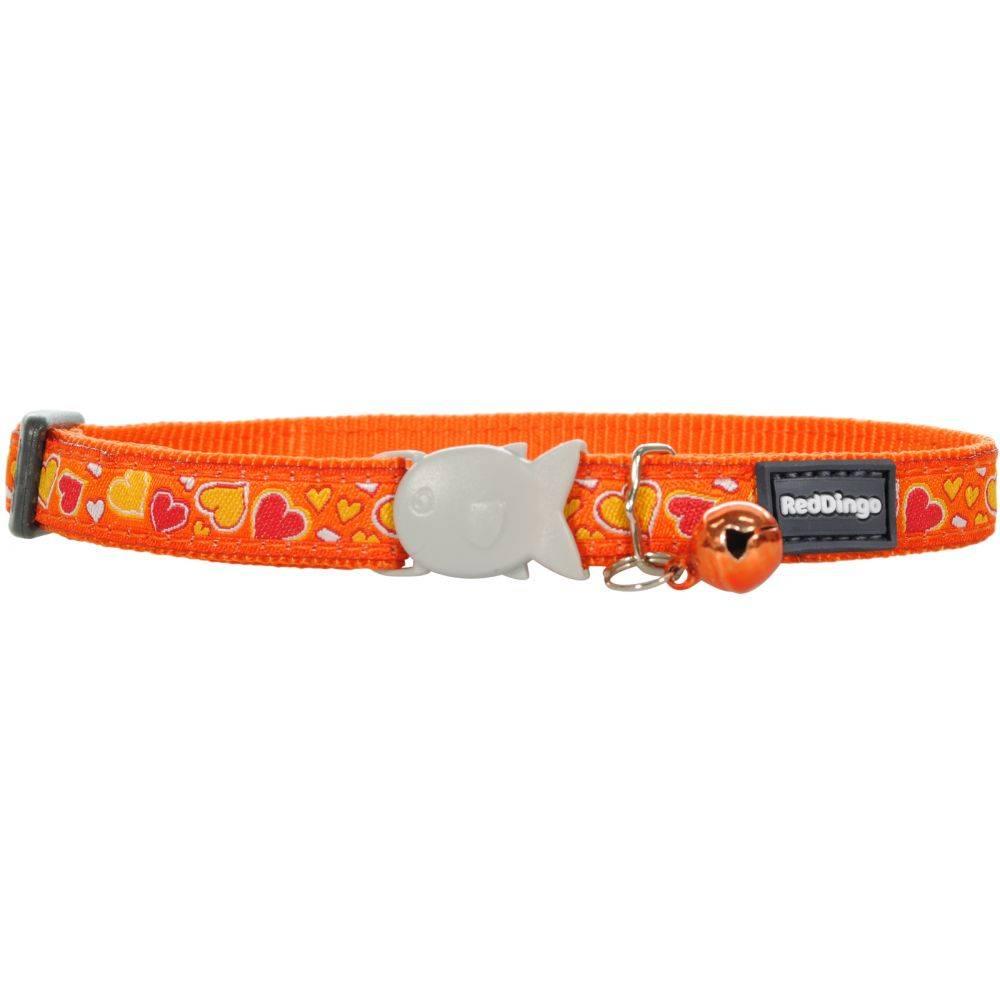 Red Dingo Cat Collar Circadelic