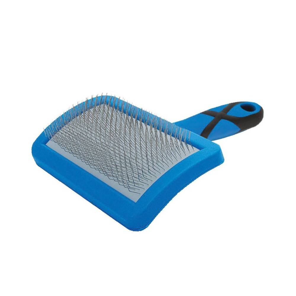 Groom Professional Curved Soft Slicker Brush