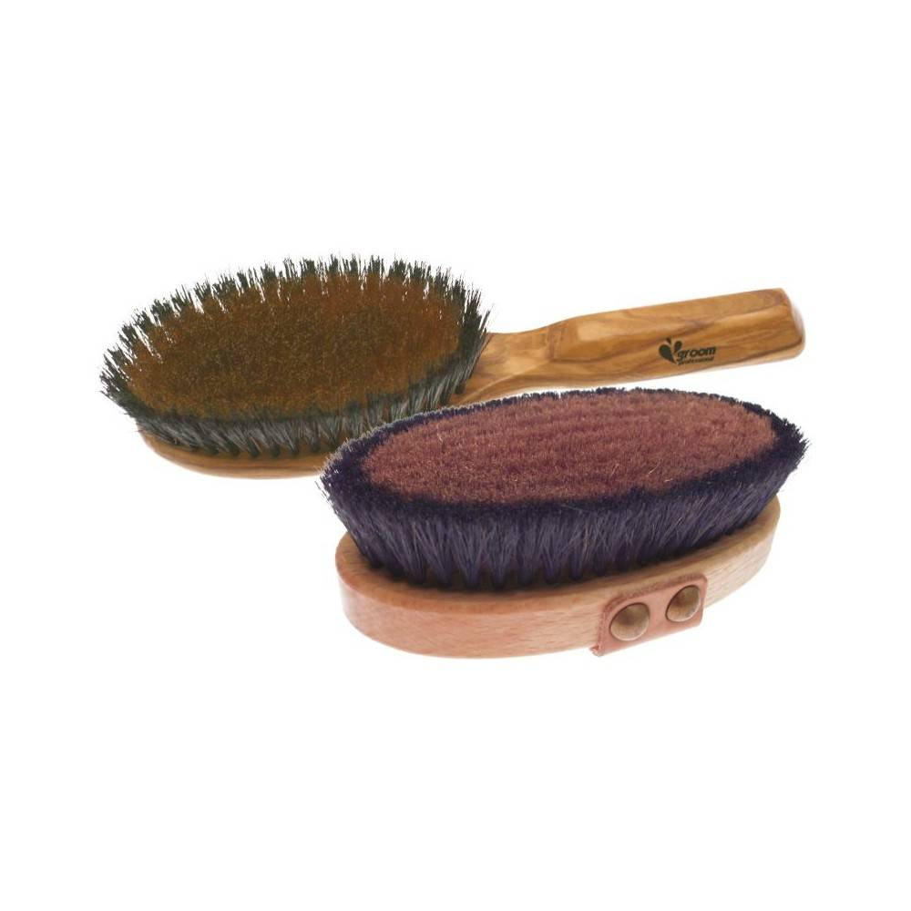 Groom Professional Luxury Brush Bronze Wire bristle