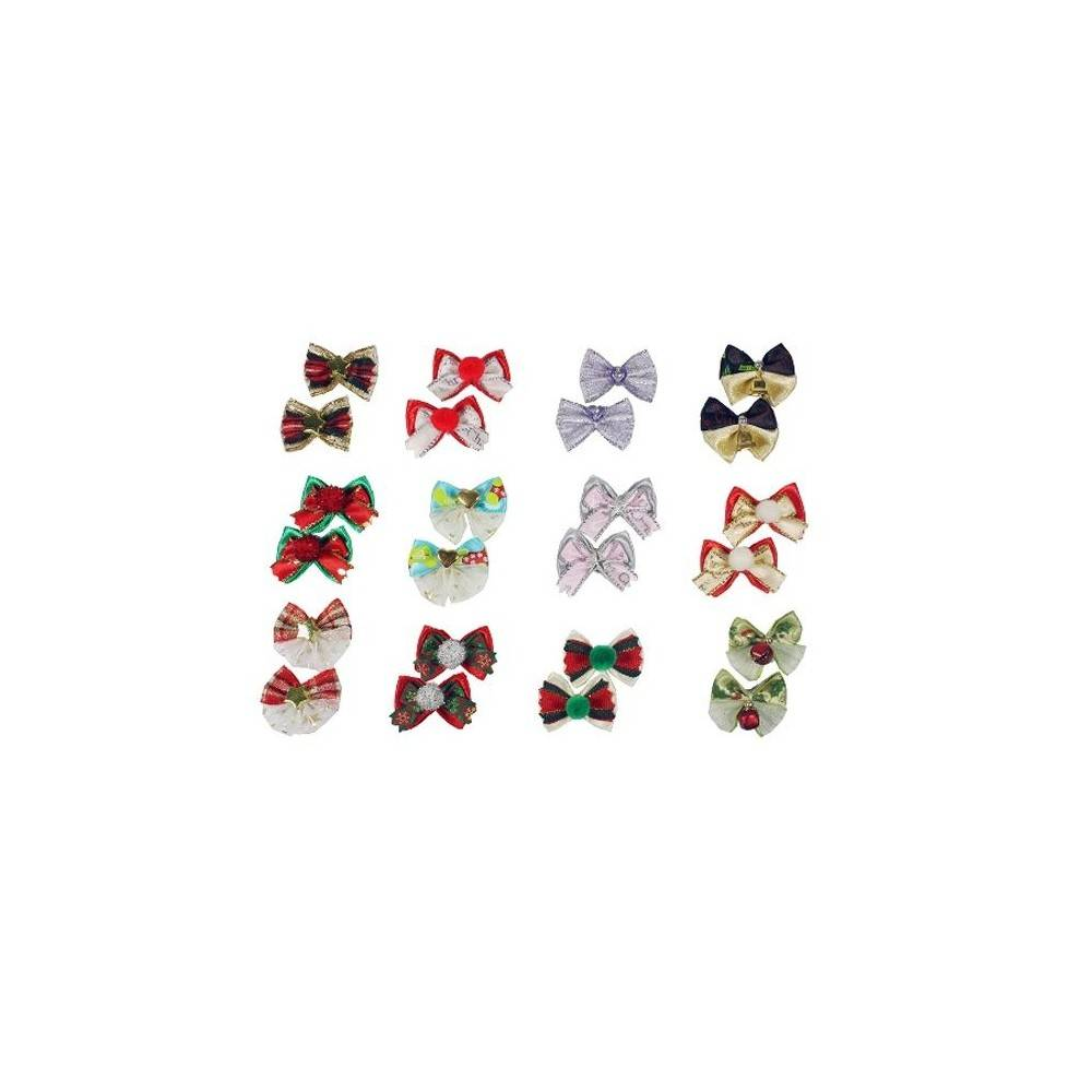 Groom Professional Luxusy Cristmas Bows Pack Of 100