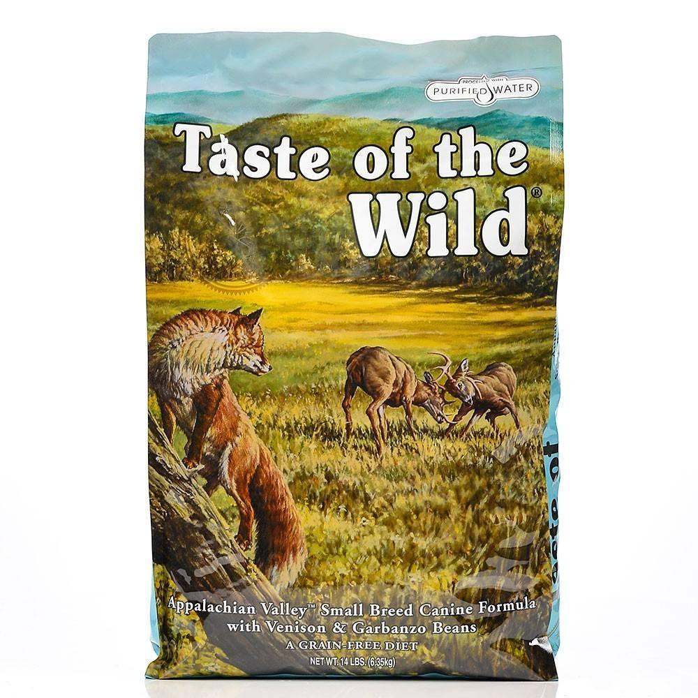 Taste of the Wild Appalachian Valley® Formulă Canină pentru Câini de Talie Mică cu Vânat și Fasole Garbanzo 12,2kg