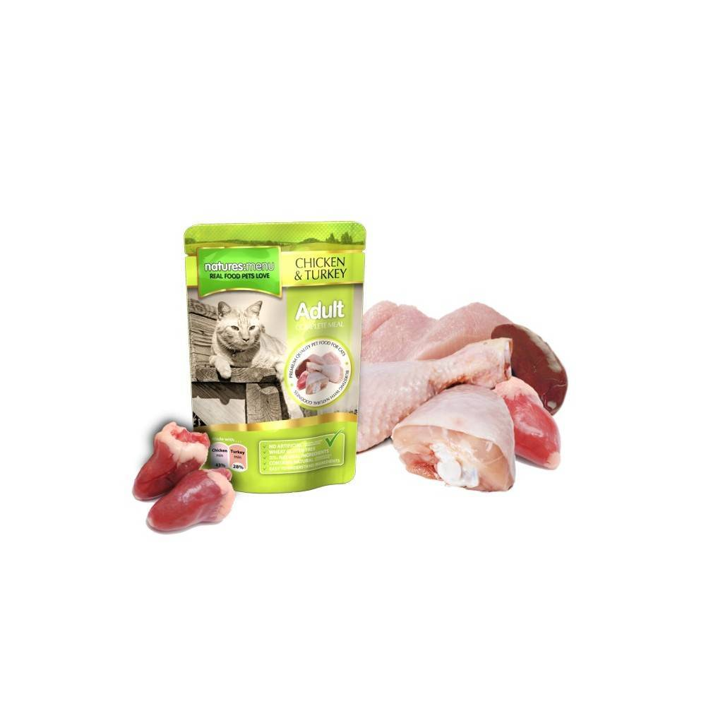 Natures Menu Chicken & Turkey Meal For Cats