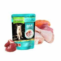 Natures Menu Chicken With Salmon & Tuna Meal For Cats