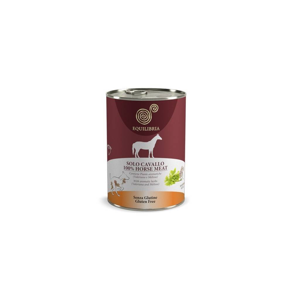 Equilibria Grain Free100% Horse Dog 410g