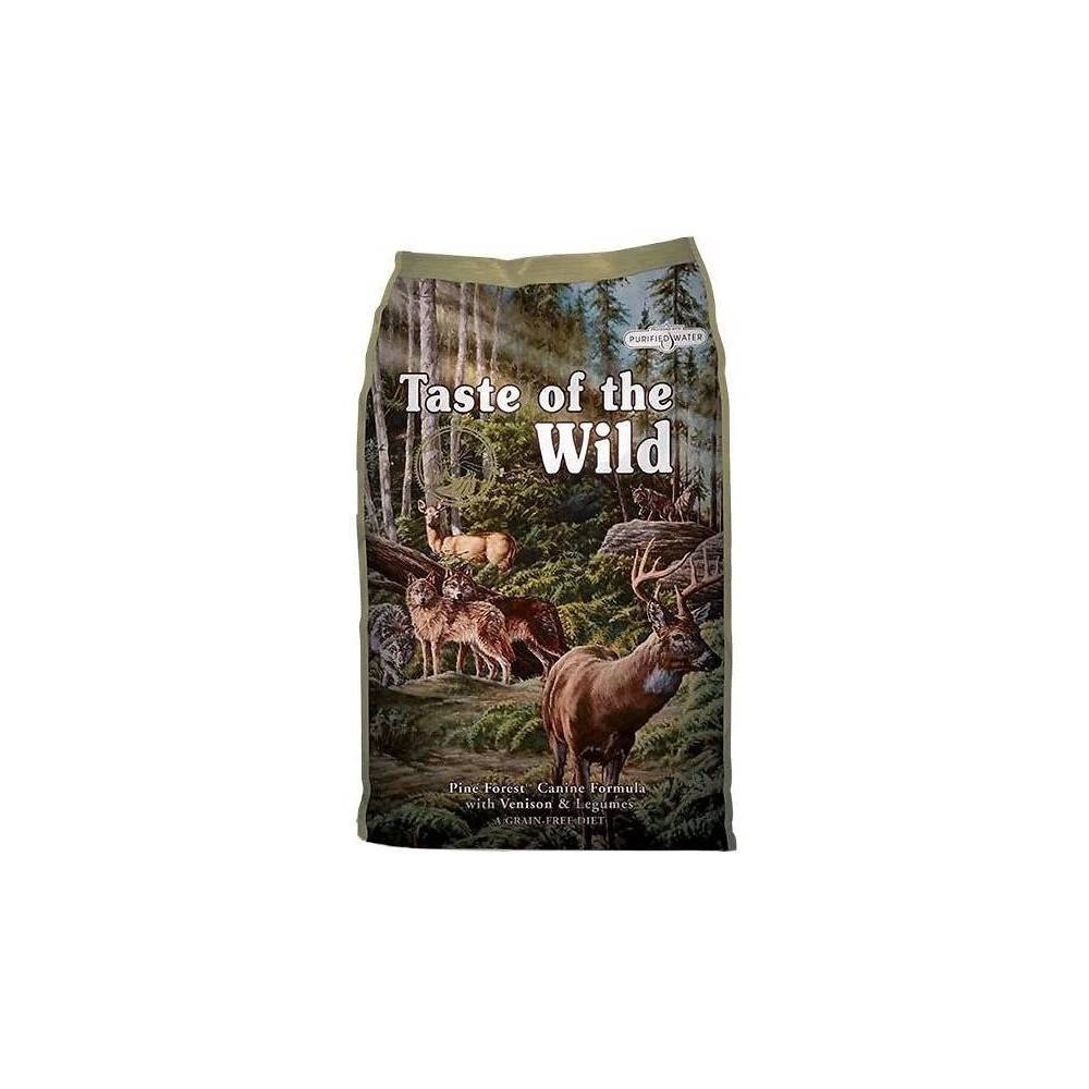 Taste of the Wild Pine Forest® Canine Formula with Venison & Legumes 12.2kg