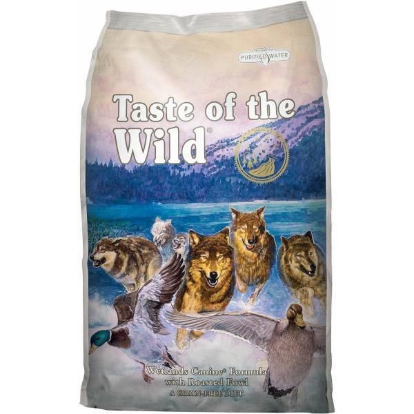 Taste of the Wild Wetlands® Formulă Canină cu Pasăre la Cuptor 12,2kg