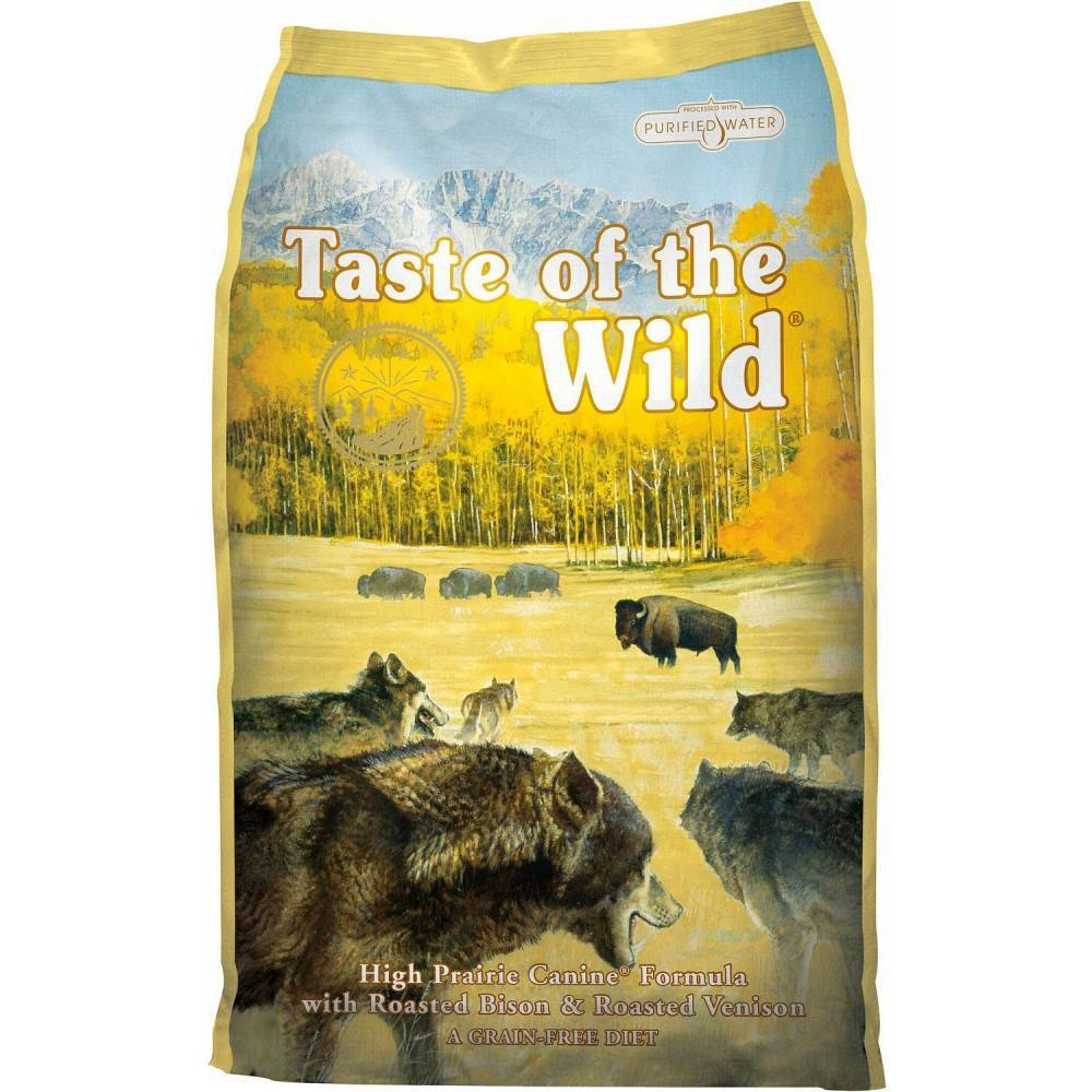 Taste of the Wild High Prairie® Canine Formula with Roasted Bison & Roasted Venison 12.2kg