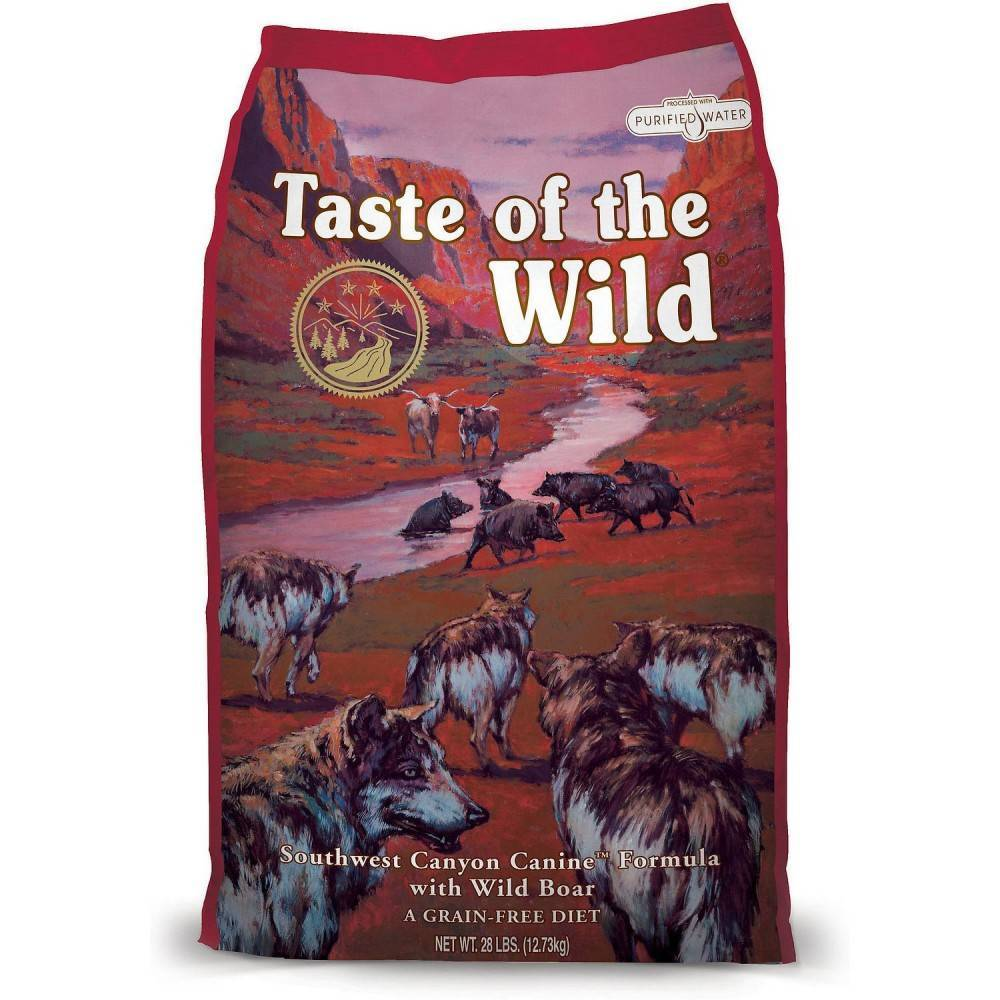 Taste of the Wild Southwest Canyon® Canine Formula with Wild Boar 12.2kg