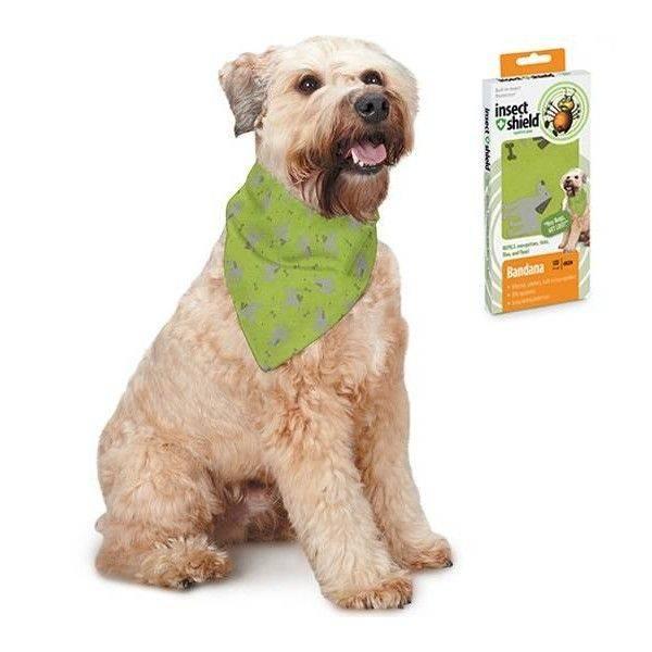 Insect Shield Dog & Bones Bandana