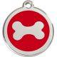 Red Dingo Enamel Tag Bone1