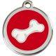 Red Dingo Enamel Tag Bone2