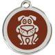 Red Dingo Medalioane Emailate Căţel