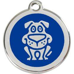 Red Dingo Enamel Tag Dog