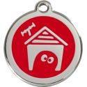 Red Dingo Medalioane Emailate Casă Căţel