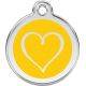 Red Dingo Medalioane Emailate Inimă Tribal
