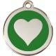 Red Dingo Medalioane Emailate Inimă