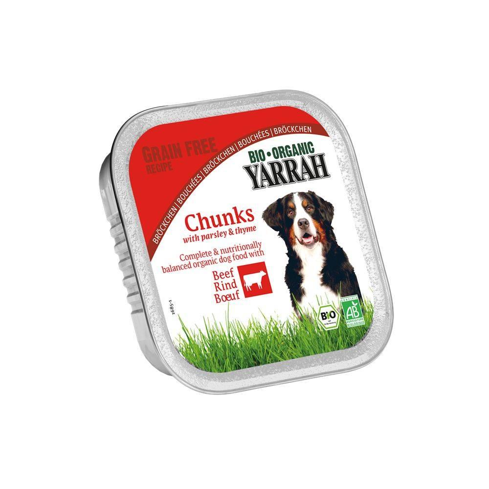Bio Organic Dog Bucati de vita cu patrunjel si cimbru 150 g