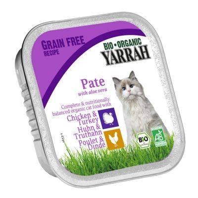 Bio Organic Cat Pate de pui si curcan cu Aloe Vera 100 g
