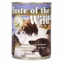 Taste of the Wild Pacific Stream Canine® Formula with Salmon in Gravy 390g