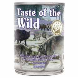 Taste of the Wild Sierra Mountain® Formulă Canină cu Miel în Sos 390g