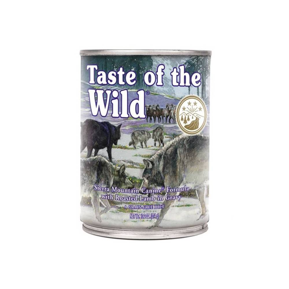 Taste of the Wild Sierra Mountain Canine® Formula with Lamb in Gravy 390g