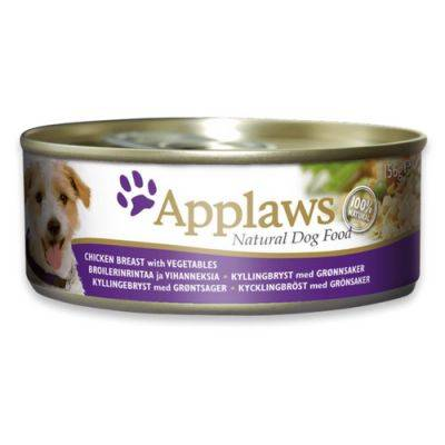 Applaws Dog cu Pui si Vegetale 156 g