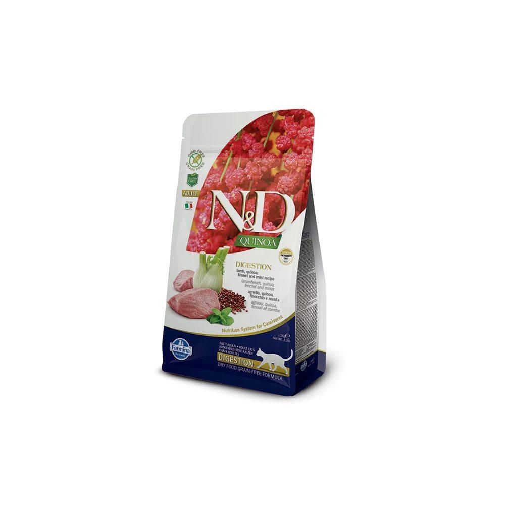 N&D Quinoa Digestie Pisici Adulte