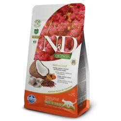 N&D Quinoa Hering Piele & Blană Pisici Adulte