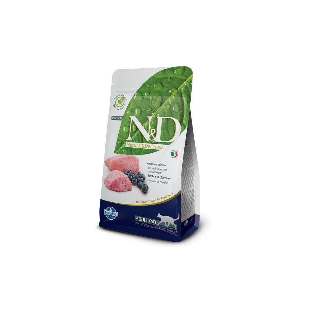 N&D Grain Free Miel & Afine Pisici Adulte