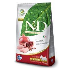 N&D Grain Free formula Canină Pui & Rodie Adult Talie Mica 2.5 Kg