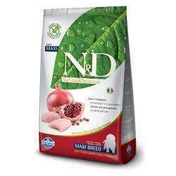 N&D Grain Free formula Canină Pui & Rodie Junior Maxi 2.5 Kg