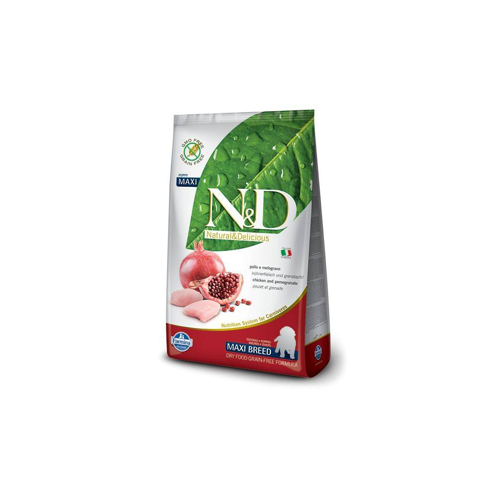 N&D Grain-Free Canine Chicken & Pomegranate Puppy Maxi2.5 Kg