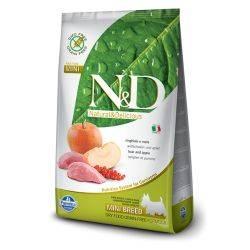 N&D Grain Free formula Canină Mistret & Mar Adult Talie Mica 2.5 Kg