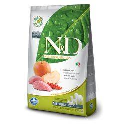 N&D Grain Free formula Canină Mistret & Mar Adult Talie Medie 12 Kg