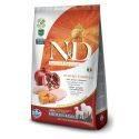 N&D Grain Free Dovleac Pui & Rodie Câine Adult Mediu Maxi 2.5 Kg