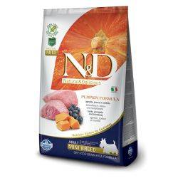 N&D Grain Free formula Canină Dovleac Miel și Afine Adult Mini 7 Kg