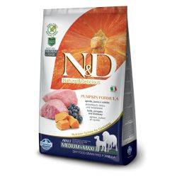 N&D Grain Free Canine Pumpkin Lamb and Blueberry Adult Mini 2.5 Kg