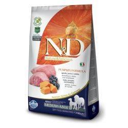 N&D Grain Free Dovleac Miel & Afine Câine Adult Mediu Maxi 12 Kg