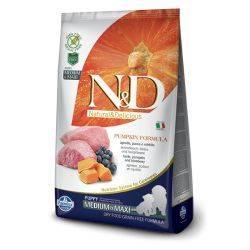 N&D Grain Free formula Canină Dovleac Miel și Afine Adult Mediu Maxi 2.5 Kg