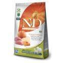 N&D Grain Free Dovleac Mistreț & Măr Câine Adult Mediu Maxi 2.5 Kg